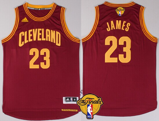 ... mens cleveland cavaliers 23 lebron james 2017 the nba finals patch red  jersey