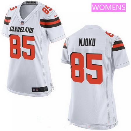 d2e153e569c ... limited rush best orange alternate stitched nfl nike elite womens 2017  nfl draft cleveland browns 85 david njoku ...