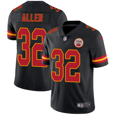 ... Red 2016 Color Rush Stitched NFL Nike Limited Nike Kansas CityChiefs 32  Marcus Allen Black Mens Stitched NFL Limited Rush Jersey Nike Chiefs ... 2d31a9f20