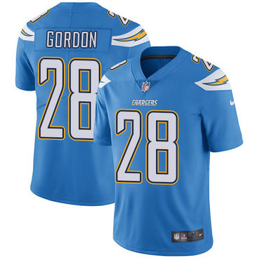 ID92665 Nike San Diego Chargers #28 Melvin Gordon Electric Blue Alternate Men\'s Stitched NFL Vapor Untouchable Limited Jersey