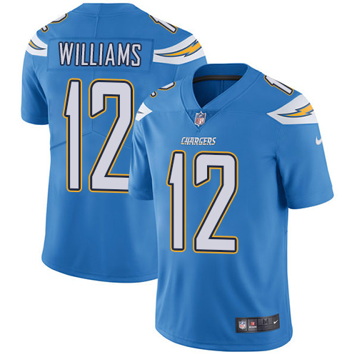 ... 51 Kyle Emanuel Mens OliveGold Limited 2017 Salute to Nike San Diego  Chargers 12 Mike Williams Electric Blue Alternate Mens Stitched NFL Vapor  ... e29e49a2c