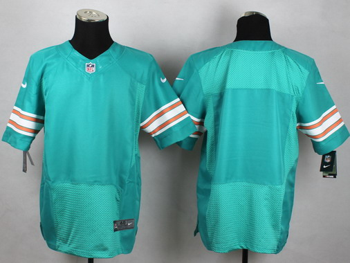 Youth Miami Dolphins Customized Aqua Green Alternate 2015 NFL Nike Game Jersey