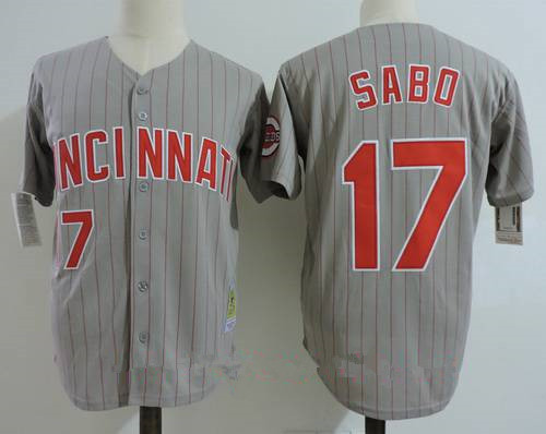 sale retailer a153b 22aa3 Flex Road Stitched Base Reds Cincinnati On Jersey Sale From ...