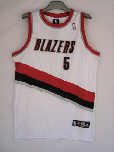 Portland Trail Blazers 5 Fernandez white SWINGMAN jerseys