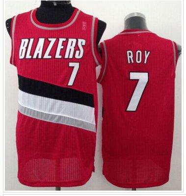 Revolution 30 Portland Trail Blazers #7 Brandon Roy Red NBA Jersey