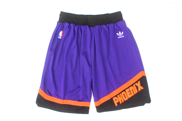Men's Phoenix Suns adidas Purple Throwback Short
