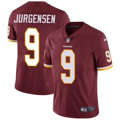 ed6ee54a3 Nike Washington Redskins  9 Sonny Jurgensen Burgundy Red Team Color Men s  Stitched NFL Vapor Untouchable
