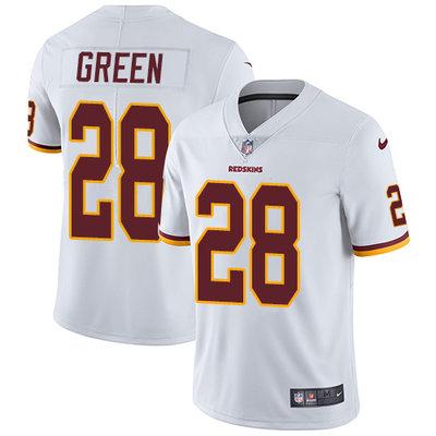 b7e9f559d Nike Washington Redskins  28 Darrell Green White Men s Stitched NFL Vapor  Untouchable Limited Jersey