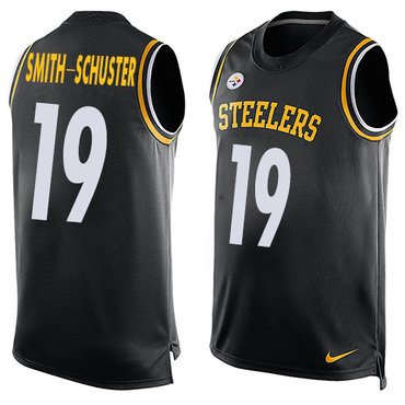 ... Elite Jersey And Sean Lee 50 Nike Pittsburgh Steelers 19 JuJu  Smith-Schuster Black Team Color Mens Stitched NFL Limited ... 455b74021