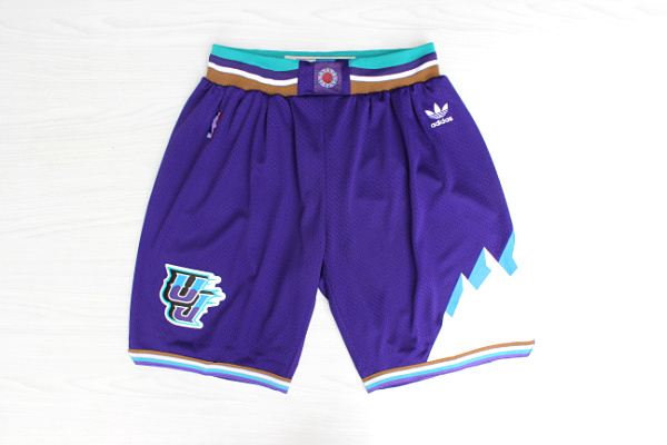 Men's Utah Jazz Purple Throwback short