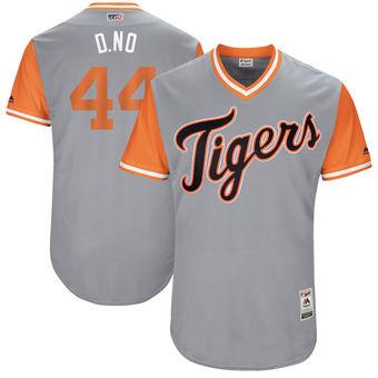 Men's Detroit Tigers Daniel Norris D. No Majestic Gray 2017 Players Weekend Authentic Jersey