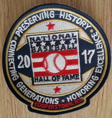 2017 MLB Baseball Hall Of Fame Patch