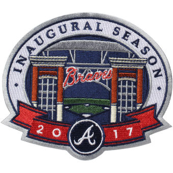 Atlanta Braves 2017 Inaugural SunTrust Park Commemorative Patch