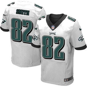Nike Philadelphia Eagles #82 Torrey Smith White Men's Stitched NFL New Elite Jersey