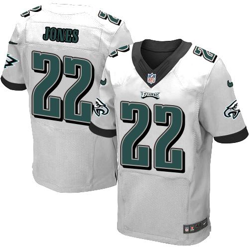 Nike Philadelphia Eagles #22 Sidney Jones White Men's Stitched NFL New Elite Jersey