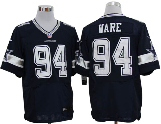 new style 5ce18 f4697 Size 60 4XL-DeMarcus Ware Dallas Cowboys #94 Navy Blue ...