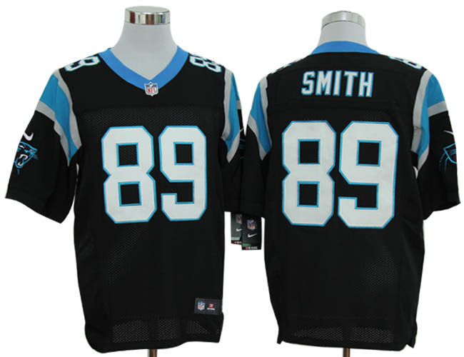 size 60 4xl steve smith carolina panthers 89 black stitched nike elite nfl jerseys