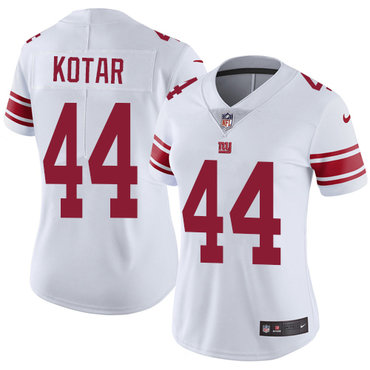 ... Womens Nike Giants 44 Doug Kotar White Stitched NFL Vapor Untouchable  Limited Jersey ... elite youth odell beckham jr ... ad5a09aea