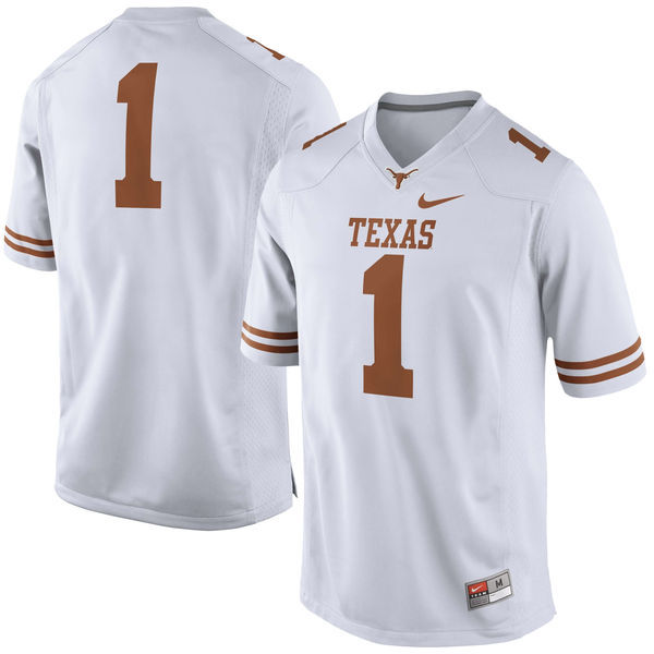 hot sale online 29cf3 0b150 mens texas longhorns 10 vince young burnt white throwback ...