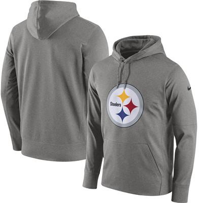 best loved b1a7b 56aa1 Men's Pittsburgh Steelers Nike Gray Circuit Logo Essential ...