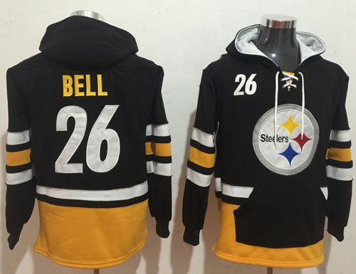 Nike Pittsburgh Steelers #30 James Conner Black Gold Name & Number  for sale