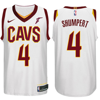 6bed40d491a Nike NBA Cleveland Cavaliers  4 Iman Shumpert Jersey 2017-18 New Season  White Jersey