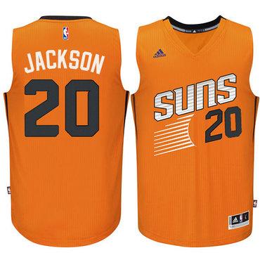 Phoenix Suns #20 Josh Jackson Orange Road Stitched NBA Jersey