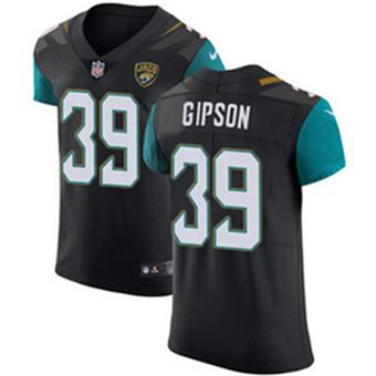Men's Nike Jacksonville Jaguars #39 Tashaun Gipson Black Alternate Stitched NFL Vapor Untouchable Elite Jersey