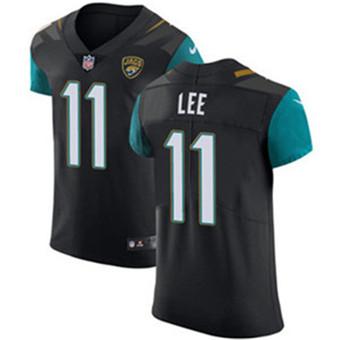 Men's Nike Jacksonville Jaguars #11 Marqise Lee Black Alternate Stitched NFL Vapor Untouchable Elite Jersey