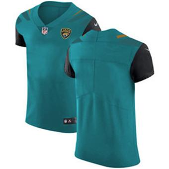 Men's Nike Jacksonville Jaguars Blank Teal Green Team Color Stitched NFL Vapor Untouchable Elite Jersey