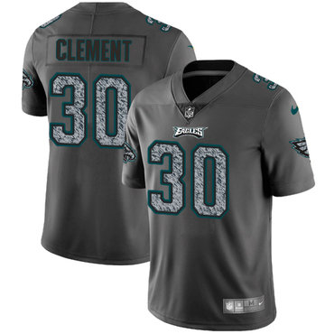 Nike Philadelphia Eagles #30 Corey Clement Gray Static Men\u0027s NFL Vapor  Untouchable Game Jersey