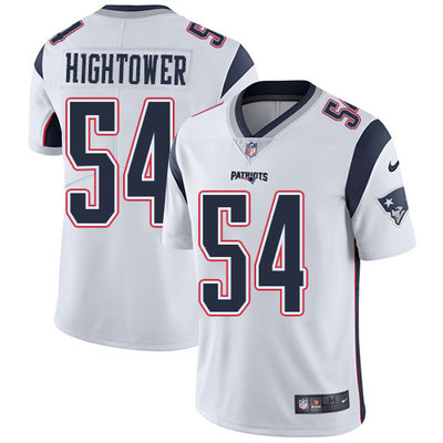 Youth Nike New England Patriots #54 Dont'a Hightower White Stitched NFL Vapor Untouchable Limited Jersey