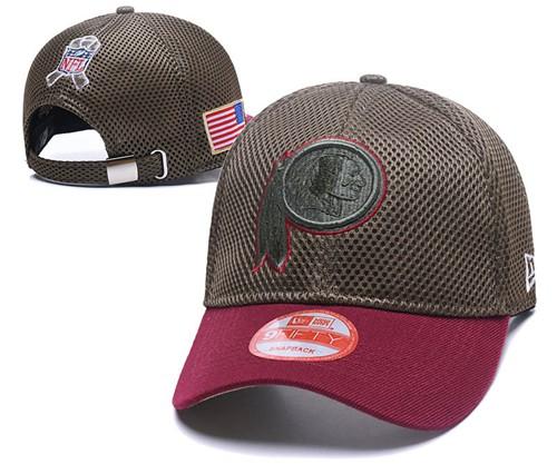 NFL Washington Redskins Stitched Snapback Hats 063