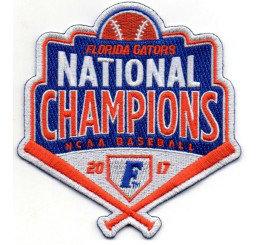Florida Gators 2017 Men's Baseball National Champions Patch