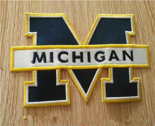NCAA Michigan Wolverines Team Patch