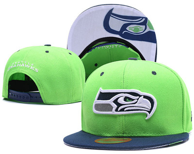 NFL Seattle Seahawks Team Logo Snapback Adjustable Hat L79