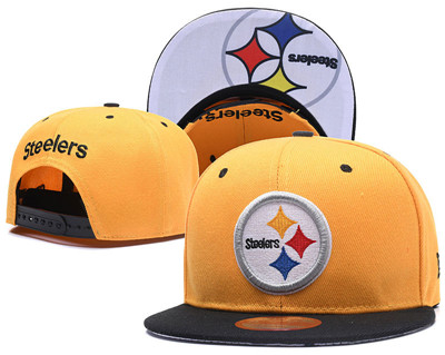 NFL Pittsburgh Steelers Team Logo Snapback Adjustable Hat