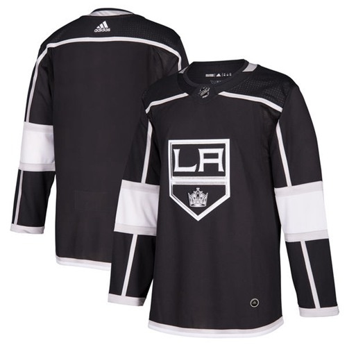 Adidas Kings Blank Black Home Authentic Stitched NHL Jersey
