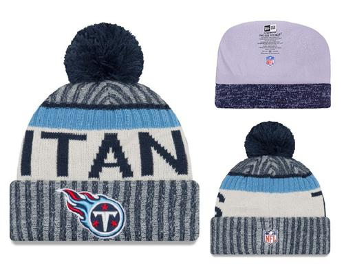 NFL Tennessee Titans Logo Stitched Knit Beanies 002