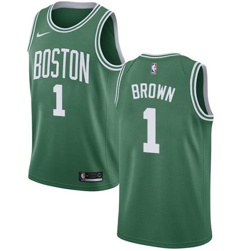 Nike Boston Celtics #1 Walter Brown Green NBA Swingman Icon Edition Jersey