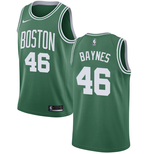 Nike Boston Celtics #46 Aron Baynes Green NBA Swingman Icon Edition Jersey