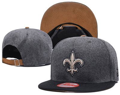 NFL New Orleans Saints Team Logo Snapback Adjustable Hat