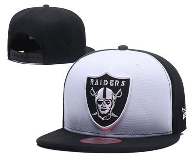 NFL Oakland Raiders Team Logo Snapback Adjustable Hat 12