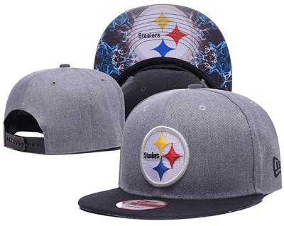 NFL Pittsburgh Steelers Team Logo Snapback Adjustable Hat 11