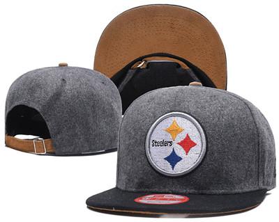 NFL Pittsburgh Steelers Team Logo Snapback Adjustable Hat
