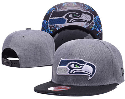 NFL Seahawks Seahawks Team Logo Navy Adjustable