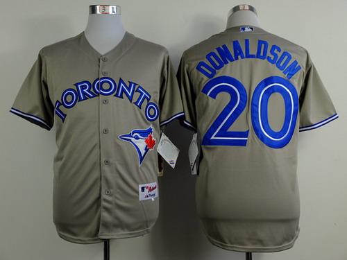 best website 9c2b2 5abbf Toronto Blue Jays #20 Josh Donaldson Blue Jersey on sale,for ...