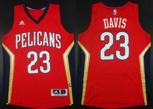 ... Road Blue Jersey New Orleans Pelicans 23 Anthony Davis Revolution 30  Swingman Red Jersey NBA New Orleans ... 9adcfc4f8