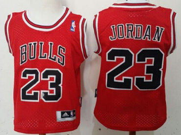 Chicago Bulls #23 Michael Jordan Red Toddlers Jersey