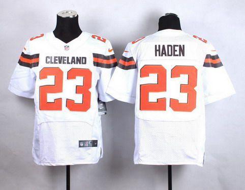 Nike Cleveland Browns #23 Joe Haden Brown Elite Jersey  hot sale